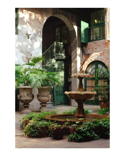 "Brulatour Courtyard<br>signed and numbered, limited edition,<br> 11""x14""-$110.00,16""x20""-$165.00, S/H $18.00"