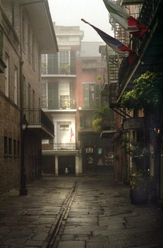 "Cabildo Alley<br>limited edition photograph signed and numbered<br>11"" x 14"" $110.00, 16"" x 20"" $165.00, S/H $18.00"