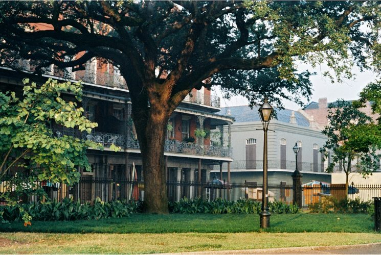 "Inside Jackson Square<br>limited edition photograph, signed and numbered<br>11"" x 14"" $110.00, 16"" x 20"" $165.00, S/H $18.00"
