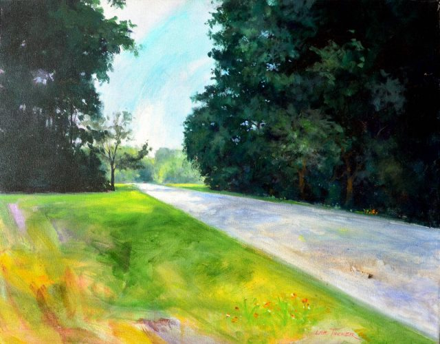 "Natchez Trace<br>original acrylic painting on stretched canvas 24"" x 30""<br>$1800.00, S/H $45.00"