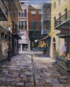 Cabildo Alley Painting